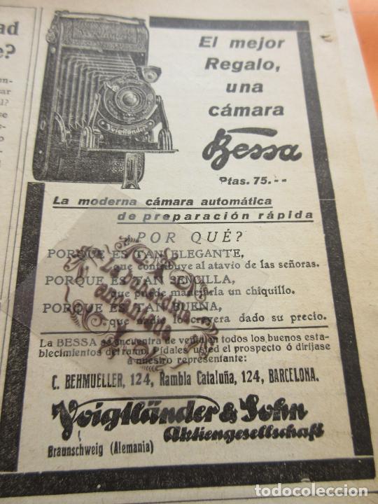 PUBLICIDAD 1929 - COLECCION CAMARAS - BESSA VOIGKANDER & SOLIN (Cámaras Fotográficas - Catálogos, Manuales y Publicidad)