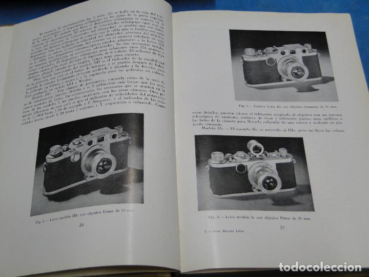 Cámara de fotos: GRAN MANUAL LEICA. MORGAN, WILLARD D. Y LESTER, HENRY M. - Foto 7 - 113344027