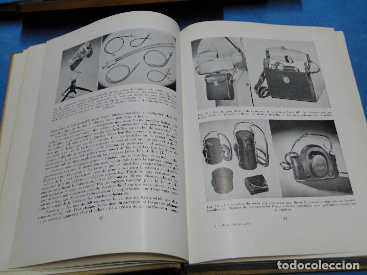 Cámara de fotos: GRAN MANUAL LEICA. MORGAN, WILLARD D. Y LESTER, HENRY M. - Foto 8 - 113344027