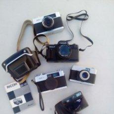 Cámara de fotos: LOTE DE 5 CÀMERAS DE FOTOS. Lote 113671703