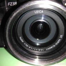Cámara de fotos: CÁMARA FOTOGRÁFICA PANASONIC LUMIX. ÓPTICA LEICA. MODELO DMC-FZ38. 1:2.8- 4.4 / 4.8 - 86.4 ASPH. Lote 114403567