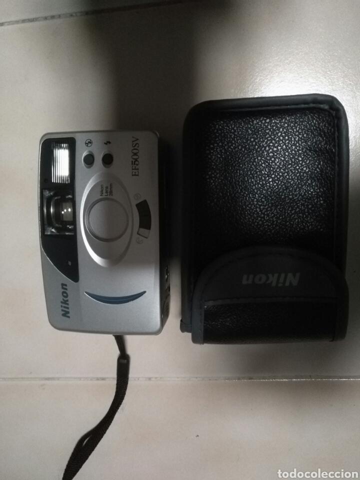 NIKON EF 500 SV (Cámaras Fotográficas - Otras)