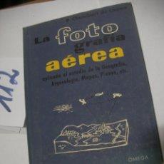 Cámara de fotos: LA FOTOGRAFIA AEREA. Lote 116130051