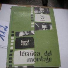Cámara de fotos: TECNICA DEL MONTAJE. Lote 116130135