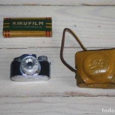 Cámara de fotos: CÁMARA DE FOTOS MINI - CÁMARA ESPÍA - MARCA HITS - CON FUNDA Y CAJA CON SEIS MINICARRETES. Lote 116248443