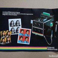 Cámara de fotos: PUBLICIDAD DE LA CAMARA POLAROID MINIPORTRAIT.. Lote 116532815