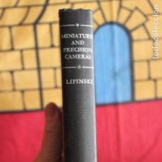 Cámara de fotos: MINIATURE AND PRECISION CAMERAS. Lote 116932079