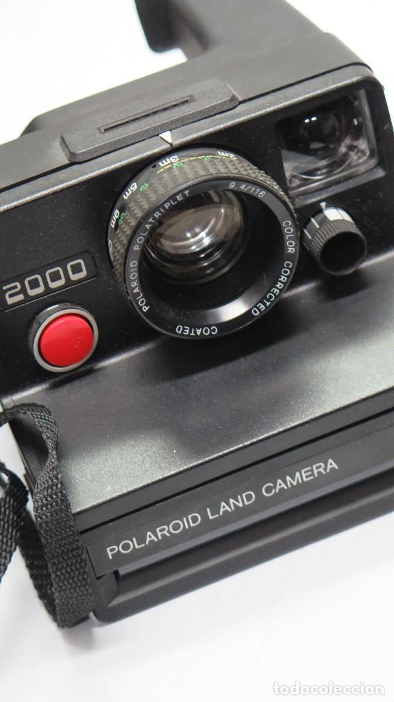 Cámara de fotos: CAMARA POLAROID LAND CAMERA. 2000 - Foto 2 - 117864251