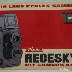 Cámara de fotos: CAMARA BASICA TLR 35MM TIPO LOMO - RECESKY - KIT DE MONTAJE DE UNA CAMARA CLASICA. Lote 118333943
