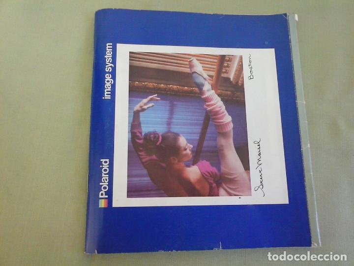 MANUAL INSTRUCCIONES CAMARA POLAROID IMAGE SYSTEM. AÑO 1986 (Cámaras Fotográficas - Catálogos, Manuales y Publicidad)