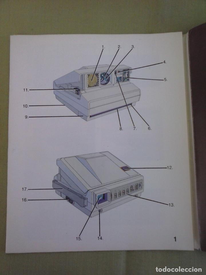 Cámara de fotos: Manual Instrucciones Camara Polaroid Image System. Año 1986 - Foto 2 - 118375907