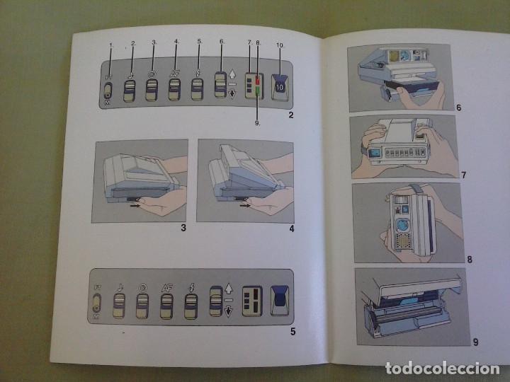 Cámara de fotos: Manual Instrucciones Camara Polaroid Image System. Año 1986 - Foto 4 - 118375907