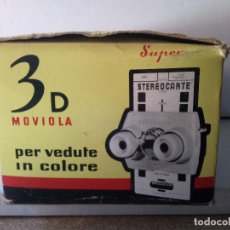 Cámara de fotos: STEREOCLIC BRUGUEIRA 3D Y 9 CARTAS ESTEREOCOPICAS DE FATIMA. Lote 118444907