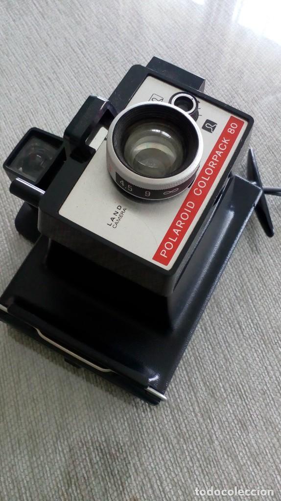 CÁMARA FOTOGRÁFICA POLAROID COLORPACK 80 (Cámaras Fotográficas - Otras)