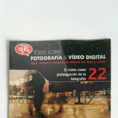 Cámara de fotos: FOTOGRAFÍA & VIDEO DIGITAL N° 22 EL VIDEO CD. Lote 118808240