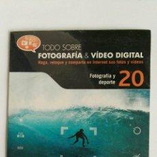 Cámara de fotos: FOTOGRAFÍA & VIDEO DIGITAL N° 20 FOTOGRAFÍA Y DEPORTE CD. Lote 118809464