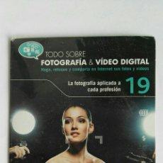Cámara de fotos: FOTOGRAFÍA & VIDEO DIGITAL N° 19 FOTOGRAFÍA APLICADA PROFESION CD. Lote 118809555