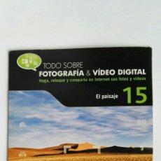Cámara de fotos: FOTOGRAFÍA & VIDEO DIGITAL N° 15 EL PAISAJE CD. Lote 118809668