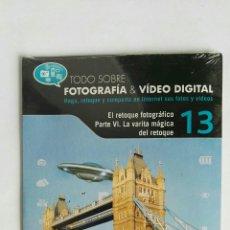 Cámara de fotos: FOTOGRAFÍA & VIDEO DIGITAL N° 13 EL RETOQUE CD. Lote 118809802