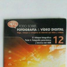 Cámara de fotos: FOTOGRAFÍA & VIDEO DIGITAL N° 12 EL RETOQUE CD. Lote 118809834