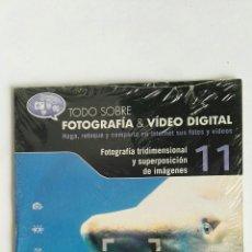Cámara de fotos: FOTOGRAFÍA & VIDEO DIGITAL N° 11 FOTOGRAFÍA TRIDIMENSIONAL CD. Lote 118809912