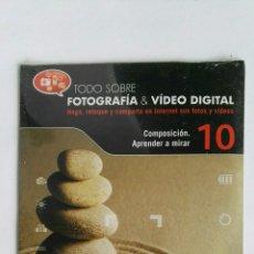Cámara de fotos: FOTOGRAFÍA & VIDEO DIGITAL N° 10 COMPOSICIÓN CD. Lote 118809972