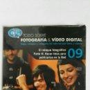 Cámara de fotos: FOTOGRAFÍA & VIDEO DIGITAL N° 9 EL RETOQUE CD. Lote 118810026