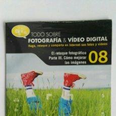 Cámara de fotos: FOTOGRAFÍA & VIDEO DIGITAL N° 8 EL RETOQUE CD. Lote 118810068