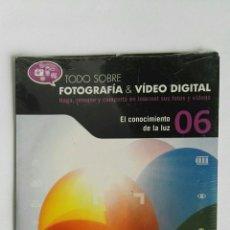 Cámara de fotos: FOTOGRAFÍA & VIDEO DIGITAL N° 6 EL CONOCIMIENTO DE LA LUZ CD. Lote 118810244