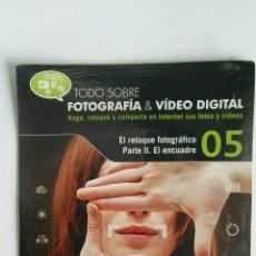 Cámara de fotos: FOTOGRAFÍA & VIDEO DIGITAL N° 5 EL ENCUADRE CD. Lote 118810344