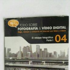 Cámara de fotos: FOTOGRAFÍA & VIDEO DIGITAL N° 4 EL RETOQUE CD. Lote 118810419