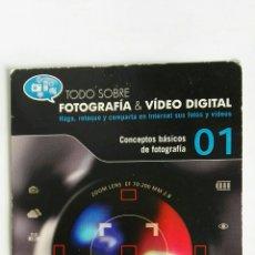 Fotocamere: FOTOGRAFÍA & VIDEO DIGITAL N° 1 CONCEPTOS BÁSICOS CD. Lote 118810511