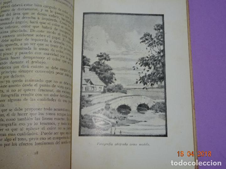 Cámara de fotos: Antiguo Libro Colección FOTO NORMA - EL VIRAJE Y EL ARTE DEL COLOR EN LA FOTOGRAFIA - Año 1955 - Foto 2 - 118853335