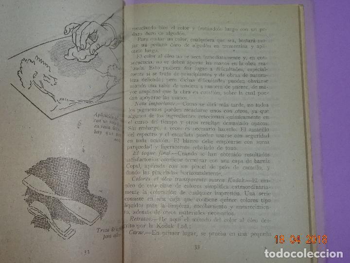 Cámara de fotos: Antiguo Libro Colección FOTO NORMA - EL VIRAJE Y EL ARTE DEL COLOR EN LA FOTOGRAFIA - Año 1955 - Foto 3 - 118853335