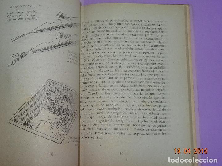 Cámara de fotos: Antiguo Libro Colección FOTO NORMA - EL VIRAJE Y EL ARTE DEL COLOR EN LA FOTOGRAFIA - Año 1955 - Foto 4 - 118853335