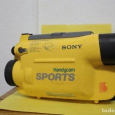 Cámara de fotos: CARCASA SUMERGIBLE SONY HANDICAM SPORTS. Lote 119612071