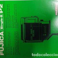 Cámara de fotos: ANTIGUO MANUAL DE INSTRUCCIONES DE FUJICA SINGLE-8 -P2-. Lote 120629815