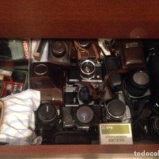 Cámara de fotos: COLECCION DE CAMARS FOTOGRAFICAS, OBJETIVOS, TELES, FOTOMETROS.... Lote 120806915