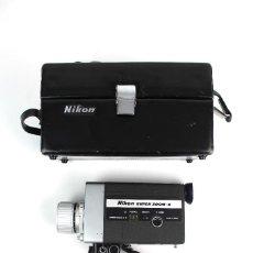 Cámara de fotos: VIDEOCAMARA SUPER 8 NIKON ZOOM-8 EN ESTUCHE ORIGINAL. CON INSTRUCCIONES .AÑO 1969. Lote 120909135