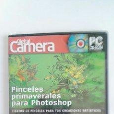 Cámara de fotos: DIGITAL CAMERA PC CD-ROM PINCELES PHOTOSHOP. Lote 121194558