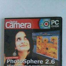 Cámara de fotos: DIGITAL CAMERA PC CD-ROM PHOTO SPHERE 2.6. Lote 121194587