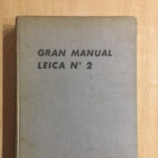 Cámara de fotos: GRAN MANUAL LEICA II. Lote 121270527