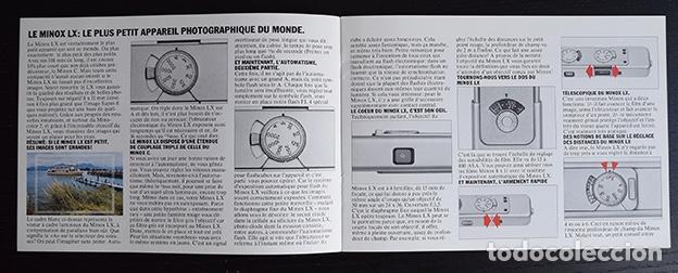 Cámara de fotos: Folleto Minox LX, cámara miniatura. Alemania 1979 - Foto 3 - 121290775