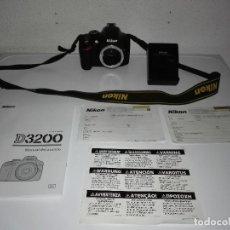 Cámara de fotos: CUERPO DE CAMARA DE FOTOS NIKON D3200 . Lote 121942683