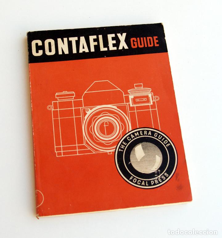 *C1955* • GUÍA FOCAL PRESS ZEISS IKON CONTAFLEX RÉFLEX (1ª ED.) 86 PÁGS. (Cámaras Fotográficas - Catálogos, Manuales y Publicidad)