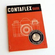 Cámara de fotos: *C1955* • GUÍA FOCAL PRESS ZEISS IKON CONTAFLEX RÉFLEX (1ª ED.) 86 PÁGS.. Lote 122098927