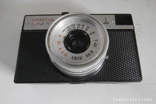 Cámara de fotos: ANTIGUA CAMARA FOTOGRAFICA RUSA SMENA 8m para tomografía - Foto 2 - 122698571