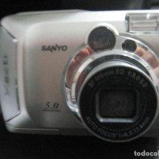 Cámara de fotos: CAMARA SANYO 5.0 MEGAPIXEL. Lote 122978071