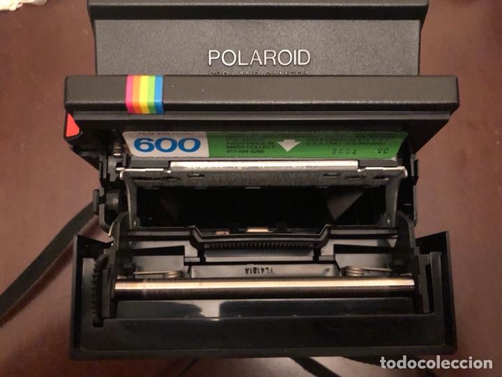 Cámara de fotos: Cámara antigua polaroid original - Foto 2 - 122987315