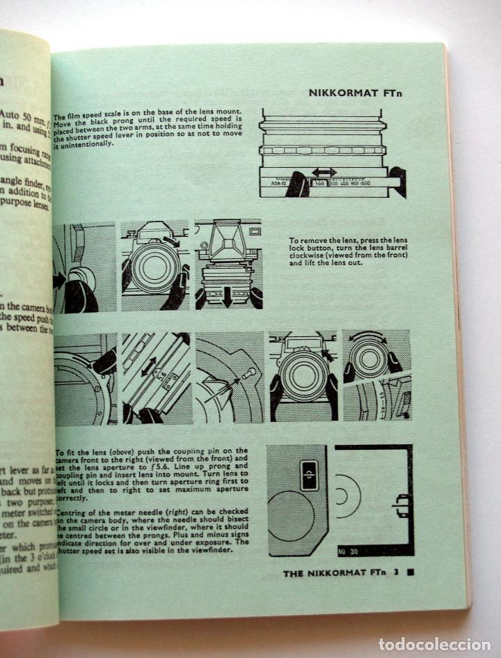Cámara de fotos: *c1977* • Guía Focal Press Nikon NIKKORMAT REFLEX 35mm (6ª Ed.) 92 págs. - Foto 3 - 124272083
